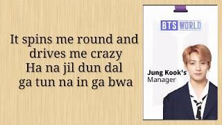 BTS (방탄소년단)   Heartbeat  (Easy Lyrics)