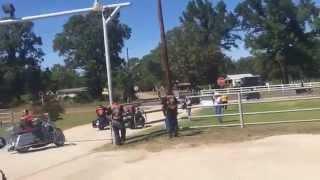 Bandido  MC -  Bandido Spaz' Funeral Henderson Texas (Part 1)
