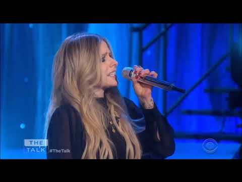 "Avril Lavigne Sings ""Head Above Water"" Live In Concert On The Talk 2019 HD 1080p - Great Concert Performances"