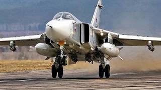 В Сирии российский Су-24 упал не успев взлететь