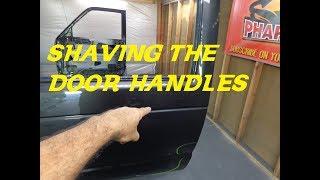HOW TO DO SHAVE DOOR HANDLES