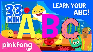 Learn Your ABC | ABC Songs | +Compilation | Pinkfong Songs for Children