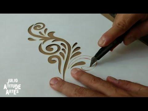 Fazer Stencil para pinturas
