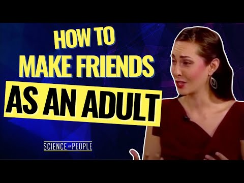 How to Make Friends as Adults