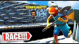 The BEST Kenworth VS Prohenis Deathrun Race! (Fortnite Creative Mode)