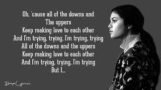 Gambar cover Selena Gomez - Hands To Myself (Lyrics)
