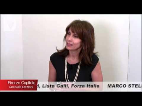 Il candidato a sindaco di Firenze Marco Stella ospite di Firenze Capitale Speciale Elezioni, condotto da Elisabetta Matini.