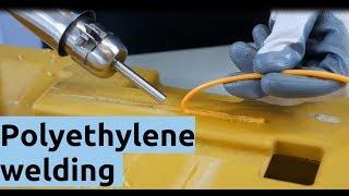Polyethylene Welding   How To Weld PE Plastic ?