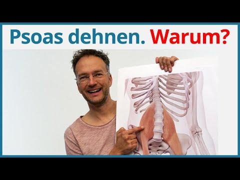 Psoas dehnen ✅ Yoga Übungen Hüfte | Yoga Anatomie