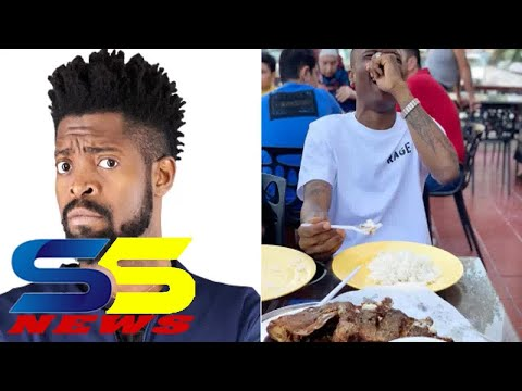 Basketmouth Calls Wizkid Out For Eating Rice Without Stew