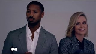 CHARLIZE THERON AND MICHAEL B. JORDAN SHARE A SPECIAL 'BLACK PANTHER' CONNECTION