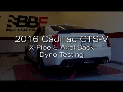 2016 CTS-V Dyno Testing w/Billy Boat Exhaust Gains +46HP