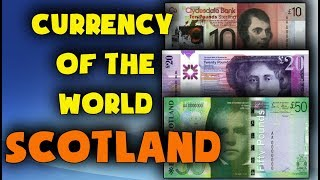 Currency of the world - Scotland. British pound sterling. Exchange rates Scotland