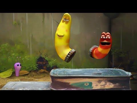 LARVA - DANCING IN THE RAIN | Larva 2017 | Cartoons For Children | Larva Cartoon | LARVA Official