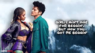 Cardi B & Bruno Mars - Please Me (Lyrics Video)