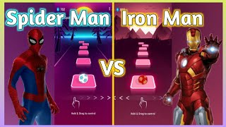 Tiles Hop – Spider-Man Theme Song Trap Remix VS Iron Man Armored Theme Song. V Gamer