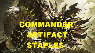 My Commander Artifact Staples