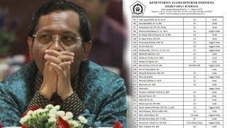 Kemenag Rilis 200 Nama Mubalig, Mahfud MD: Biasa Saja Tak Perlu Ditafsir Secara Politik