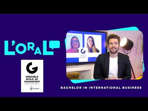 L'oral : Bachelor GEM in International Business. Chargé d'affaires internationales