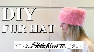 DIY How To Sew A Faux Fur Hat Sewing Tutorial