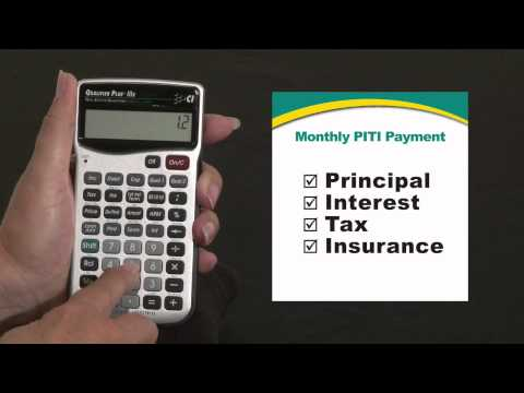 Qualifier Plus IIIx - Monthly PITI Payment