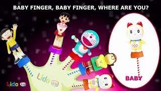 Doraemon Cake Pop Song Doraemon Finger Family song Nursery Rhymes for kids | LidoTV