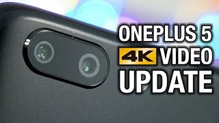 The OnePlus 5 Camera is Finally Good: 4K Video Stabilization!