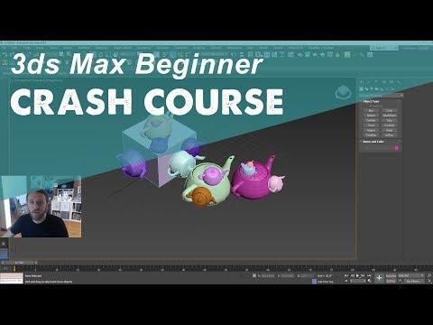 3DS MAX TUTORIAL: Beginner Crash Course Coupon