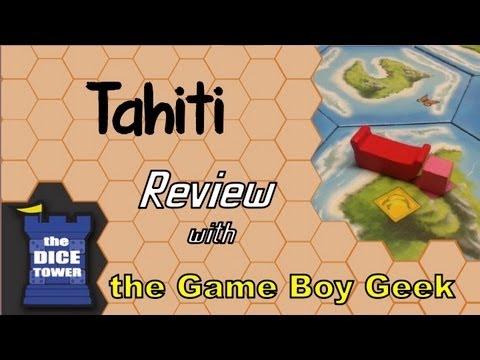 Dice Tower - The Game Boy Geek Reviews Tahiti