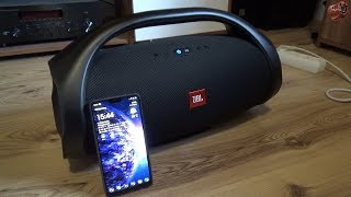 JBL Boombox Bass Test (with OnePlus 6)
