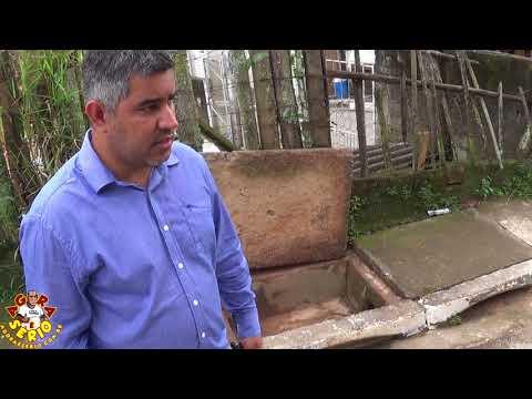 Diretor de Obras Carlos Lago explica sobre o Deslizamento na Obra da Rua Antonio Despézio e a Logística do Bueiro fechado