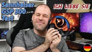 Sennheiser GSP 300 Test   DAS BESTE Headset, das ich ich je nutzte! (deutsch)