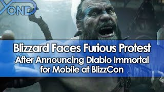 Blizzard Faces Furious Protest After Announcing Diablo Immortal for Mobile at BlizzCon