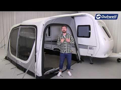 Nordic Coast Vorzelt mit Luft Kollektionsvideo in Deutsch | Innovative Familien Camping