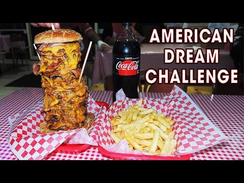 American Dream Burger Challenge in AUSTRALIA!!