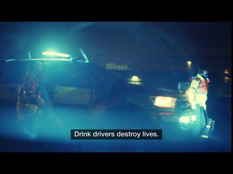 Drink drivers destroy lives.
