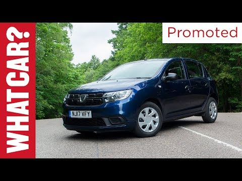 Promoted: Dacia Sandero - What Car?'s Best Small Car under £12,000 award