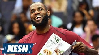 LeBron James Addresses Rumors He Is The NBA