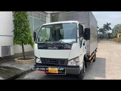 Giao xe Isuzu QKR77H thùng kín 2021 tải 2350kg