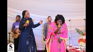 Wow!..Mama Esther & Piesie Esther Fostering Unity Amongst Gospel Artistes @ My Testimony Concert