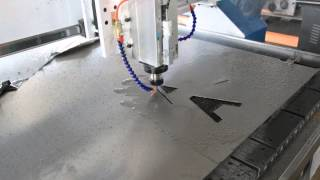 CNC Router Cutting Stainless Steel