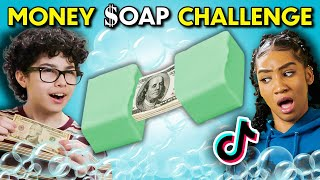 Teens React To And Try The Money Soap Challenge
