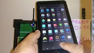 Turn off voice talkback Tablet Voyager, RCA, DOPo | Tablet spoken feedback | Screen reader talk back