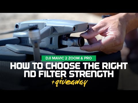 How to pick the right ND Filter strength - DJI Mavic 2 Zoom/Pro Freewell Filters