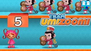 Team Umizoomi: Zoom into Numbers - Best Apps for Kids | Toy Store Counting With Geo, Milli and Bot