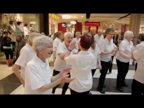 Westfield Queensgate Happy Flashmob