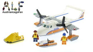 Lego City 60164 Sea Rescue Plane - Lego Speed Build Review