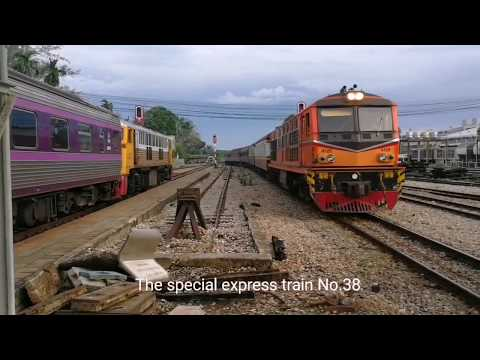 Take train from Alor Setar Malaysia to Bangkok Thailand