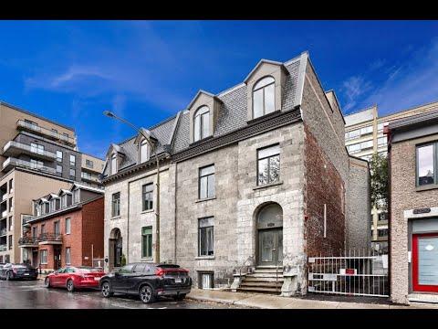 Bienvenue dans notre visite virtuelle du 1216 St-Hubert # 5, Montréal