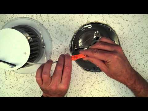 How to install a recessed LED retrofit kit